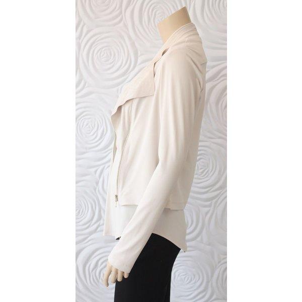 Iris Ivory Bomber Jacket