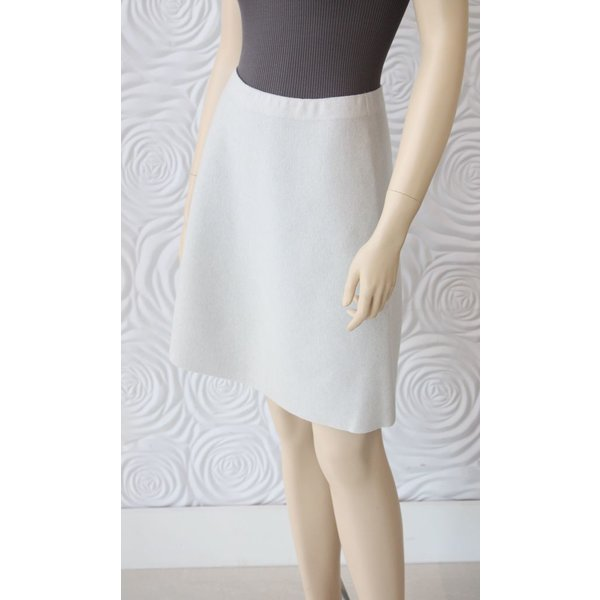 D Exterior Cashmere Reversible Skirt