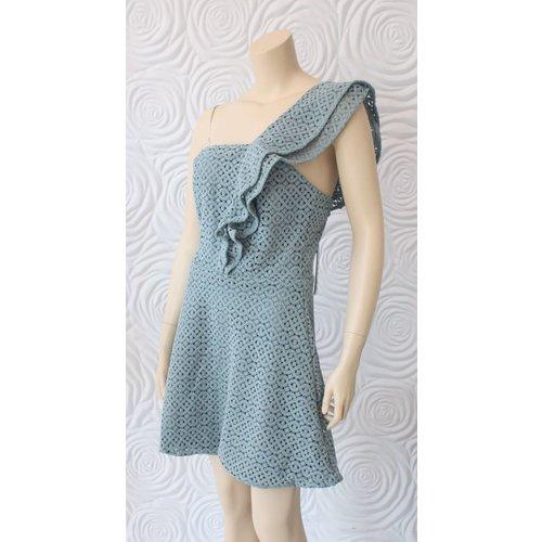 Shilla Shilla Eclipse Lace Mini Dress