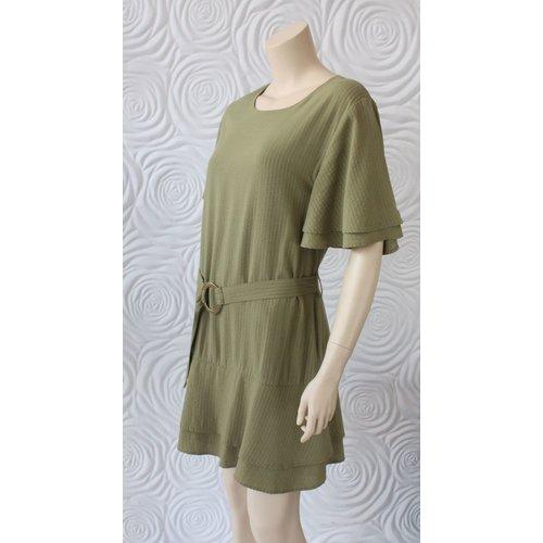 Shilla Shilla Layered Ruffle Dress