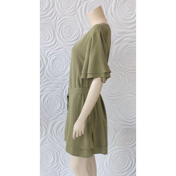 Shilla Layered Ruffle Dress