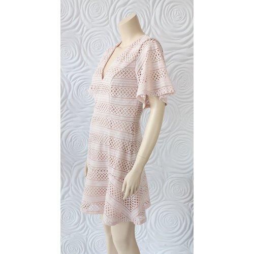 Shilla Shilla Ethereal Lace Mini Dress