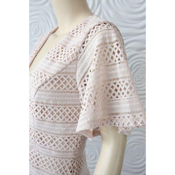 Shilla Ethereal Lace Mini Dress