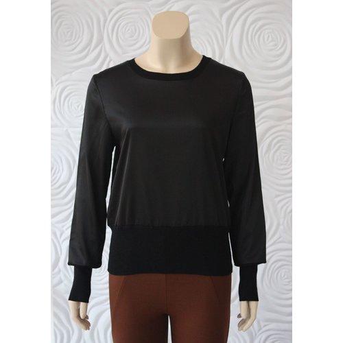 Weill Weill Silk and Knit Lightweight Sweater