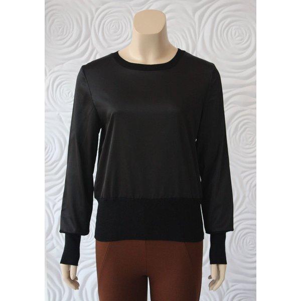 Weill Silk and Knit Lightweight Sweater