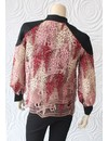 Once Was Amytis Lace Bomber Jacket in Pink