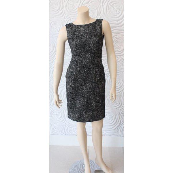 Nora Gardenr Tweed Sleeveless Dress