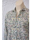 Hartford 100% Cotton Button Down Blouse with Liberty Print