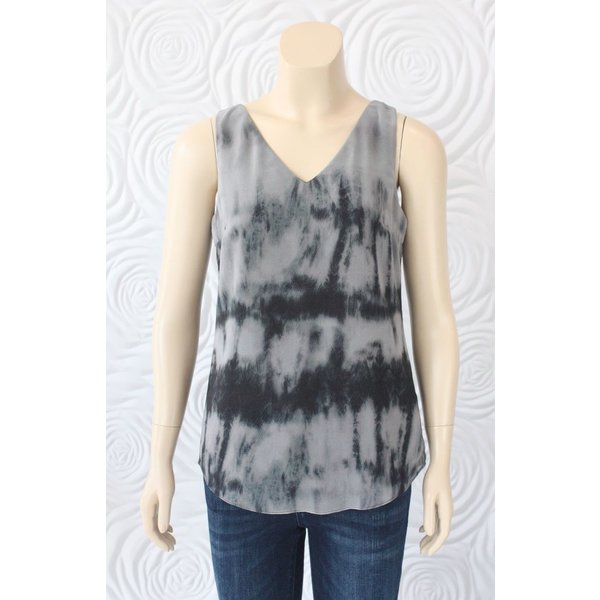 Iris Tie-Dye Blouse with Bow Back