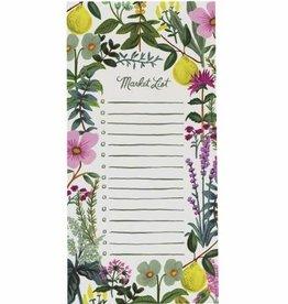 Notepad Herb Garden Market Pad