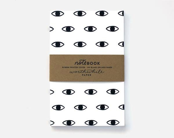 Notebook Eye Pattern
