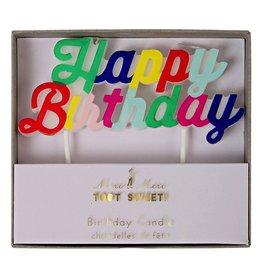 Multi Happy Birthday Candle