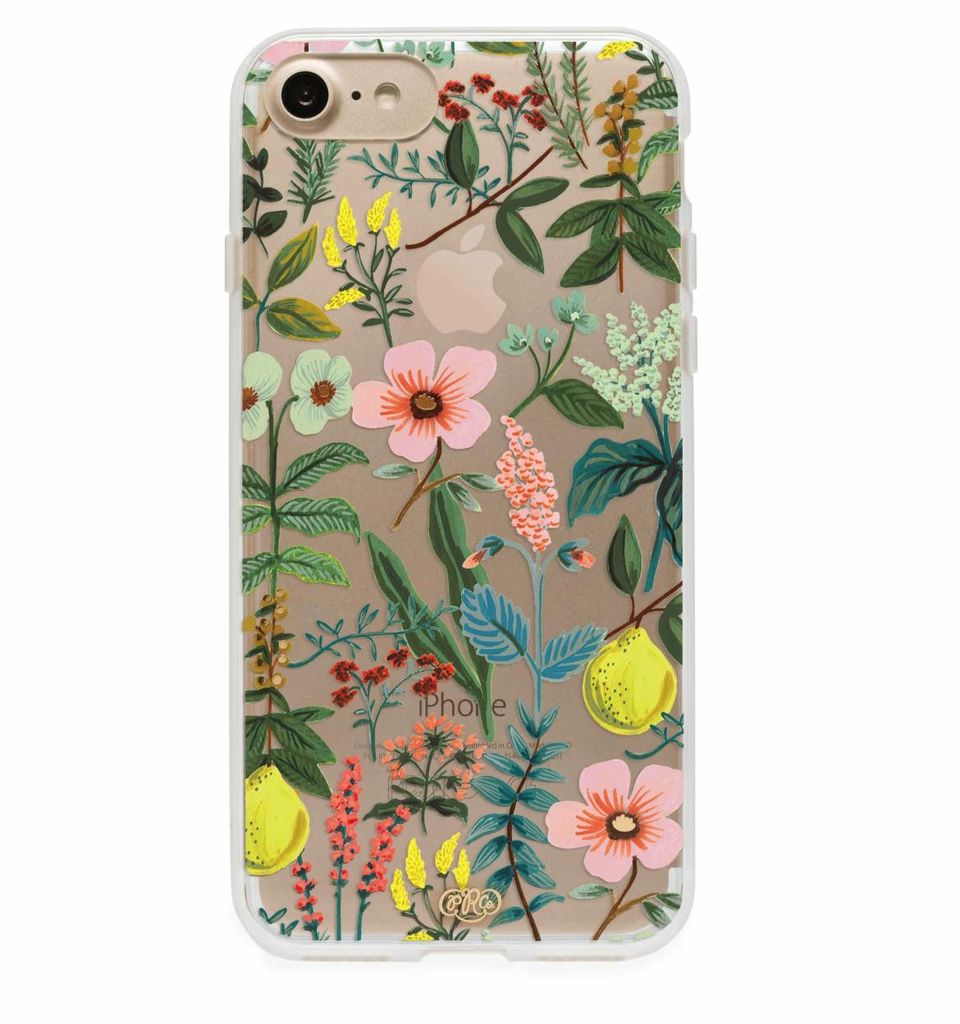 Herb Garden iPhone 7 Case Transparent
