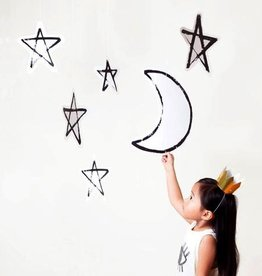 Modern Camp - Moon & Stars Hanging Decor
