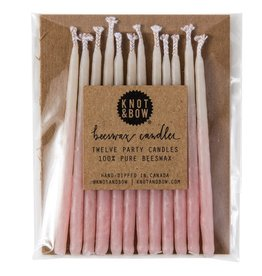 Ombre Beeswax Candles