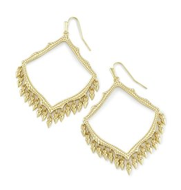 Lacy Earring - Gold Metal
