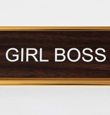 Nameplate Girl Boss