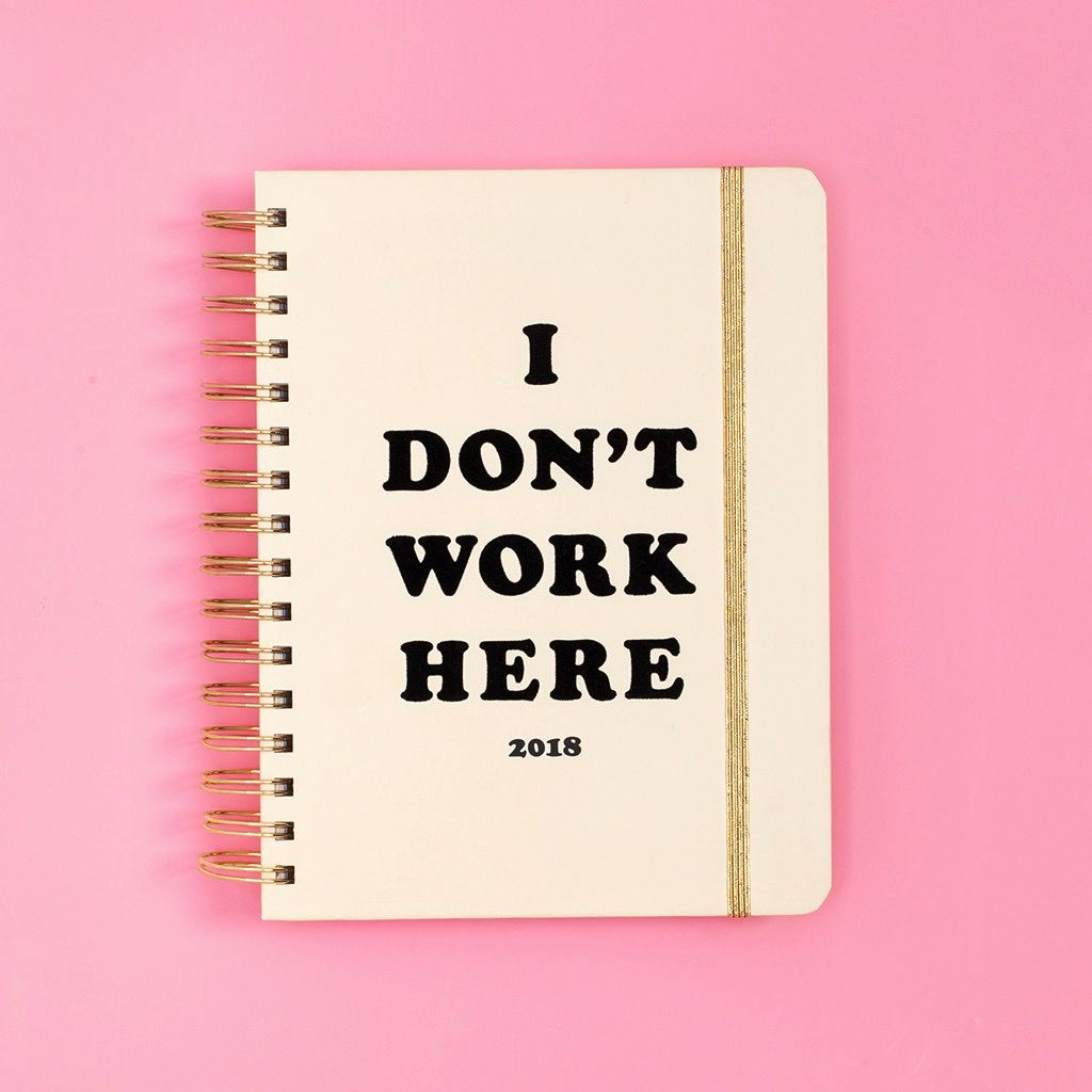 17 Month Medium Agenda - I Don't Work Here