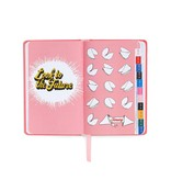 17 Month Classic Agenda - I Am Very Busy Pink Holographic