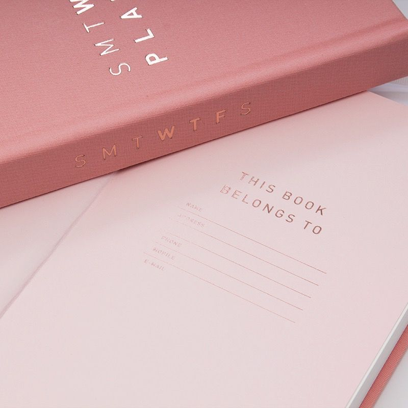 WTF Pink Planner