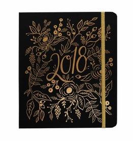 2018 Floral Foil Planner