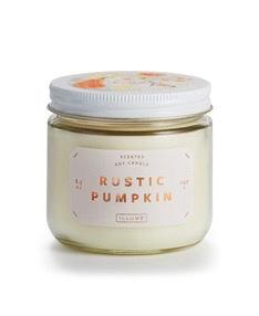 Rustic Pumpkin Lidded Jar