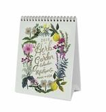 2018 Herb Garden Desk Calendar