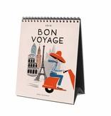 2018 Bon Voyage Desk Calendar