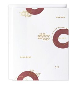 Love I Love You Circles Card