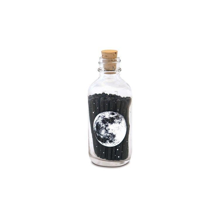 Mini Apothecary Match Bottle - Astronomy