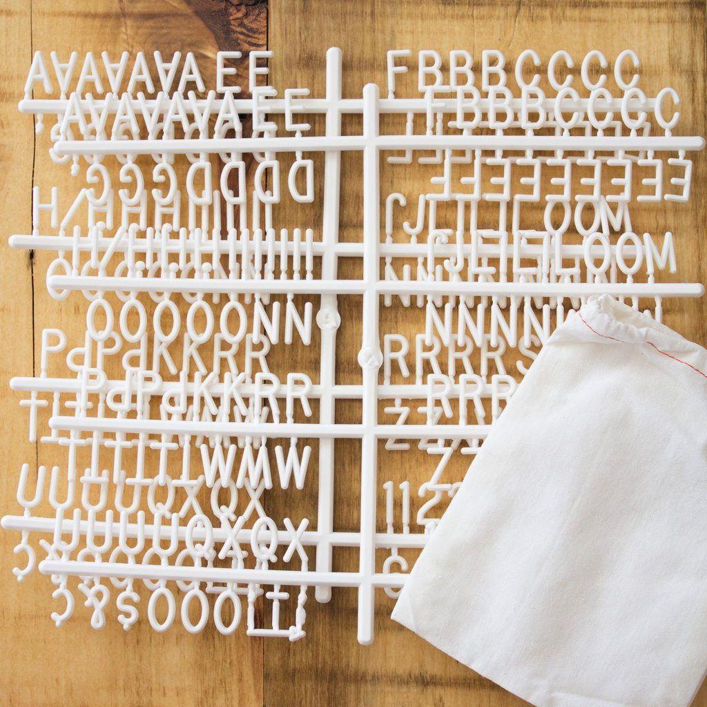 Letter Boards The Poet - Oak 10x10