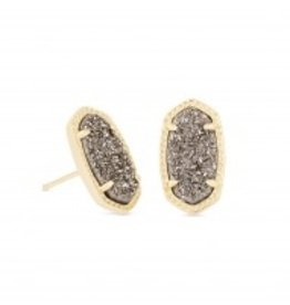 Ellie Earring - Gold Platinum Dusy