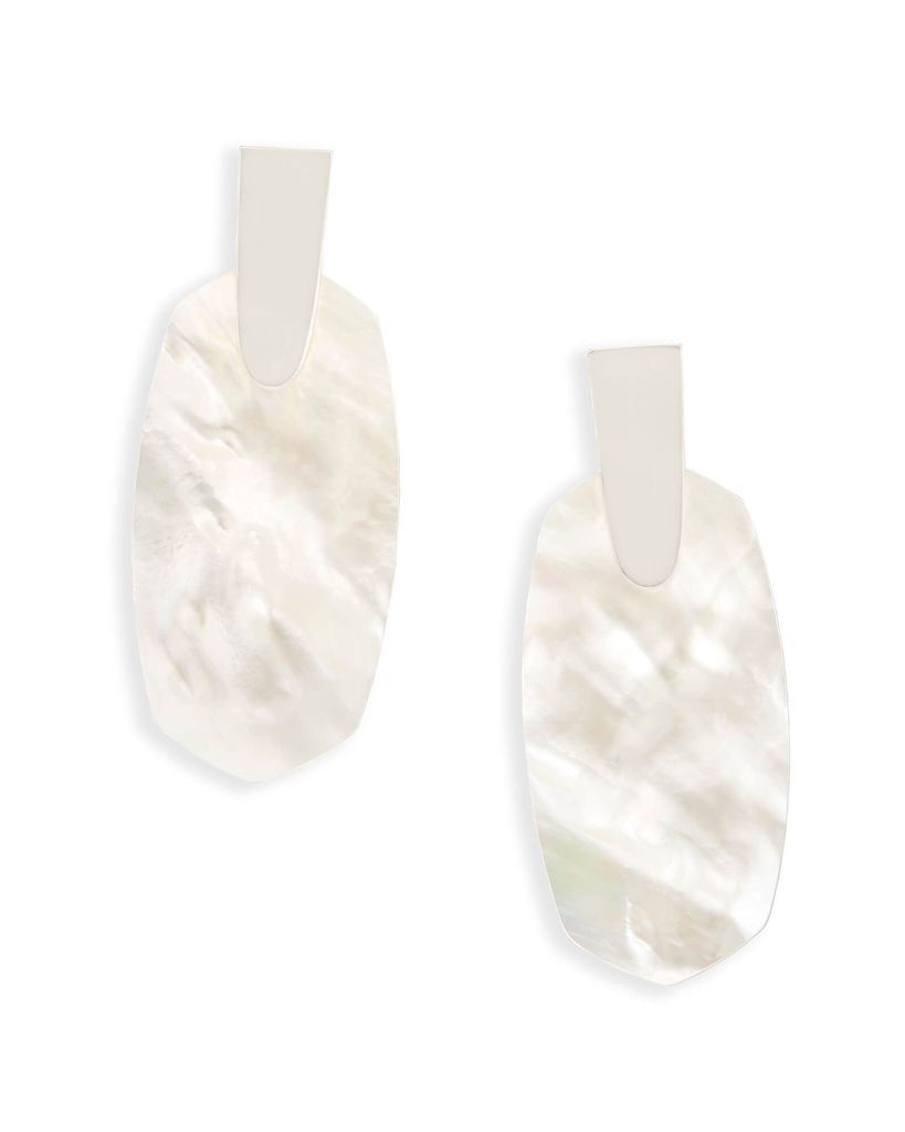 Aragon Earring - BSV Ivory Mother of Pearl