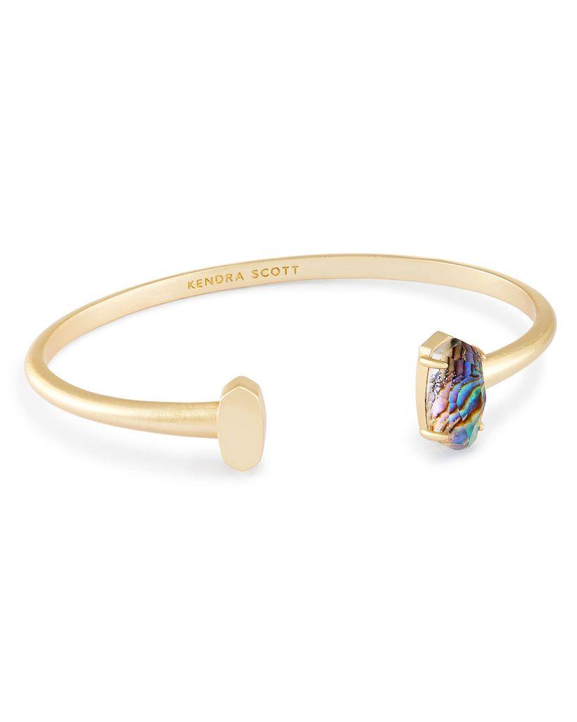 Vada Bracelet - Gold Abalone Shell