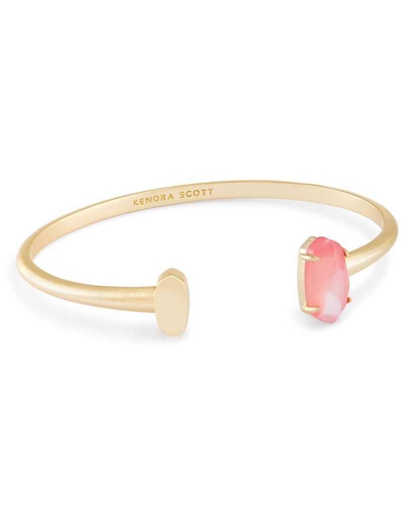 Vada Bracelet - Gold Blush Mother of Pearl