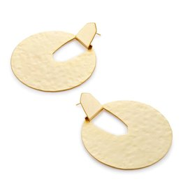 Diane Earring - Gold Metal