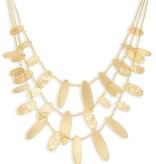 Nettie Necklace - Gold Metal