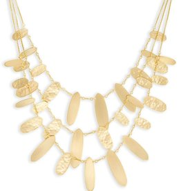 Nettie Necklace - Gold Metal