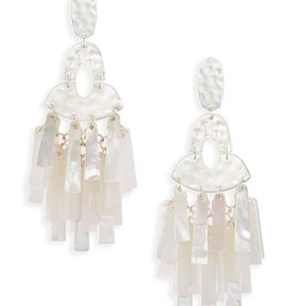 Kitty Earring - Silver Neutral Mix
