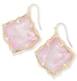 Kirsten Earring - Gold Blush Mother of Pearl