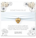 Wedding Something Blue Bouquet Wrap - Gold