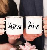 His & Hers Campfire Mug Set