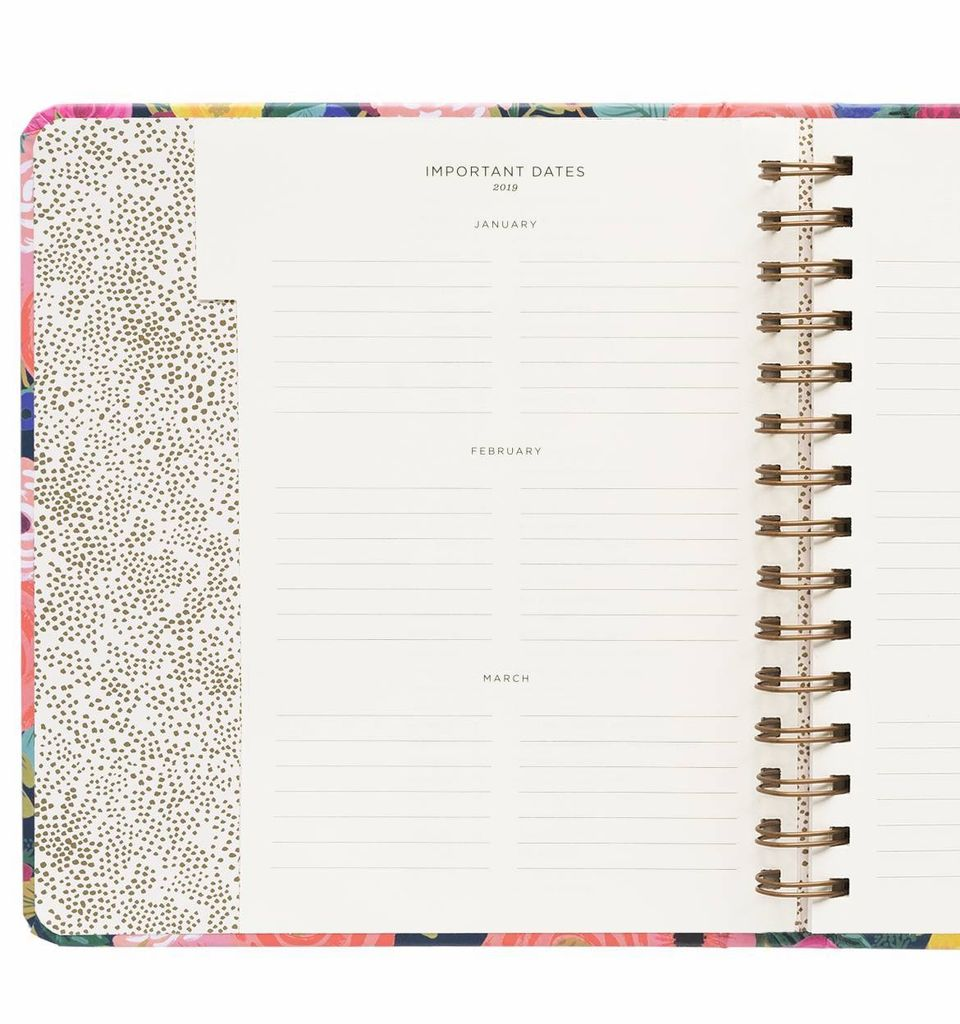 2019 Juliet Rose Planner