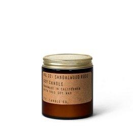 Mini Teakwood & Tobacco Soy Candle