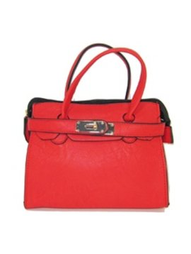 "Survolte Red ""Adelle"" Bag"
