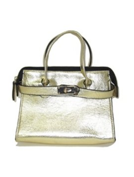 "Survolte Gold ""Adelle"" Bag"