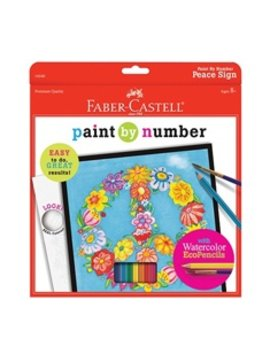 Faber-Castell Faber-Castell - Paint by Number Peace Sign