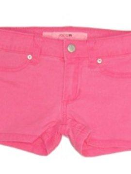 Neon Pink Mini Short - Size 7