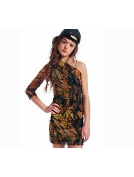 Submarine Camo Party Dress - 10/12
