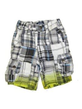Little Traveler Cargo Shorts Dip Dye